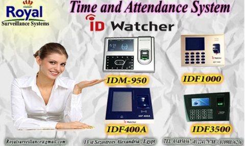 أحدث أجهزة  الحضور والانصراف ماركة ID WATCHER