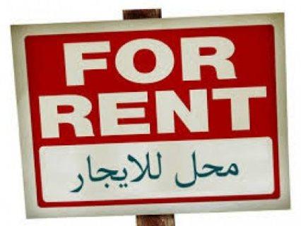 محل للايجار 75م الحي السابع بالقرب من مصر والسودان