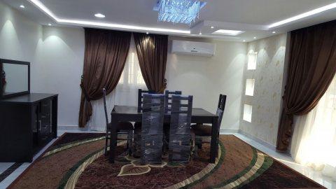 شقه مفروشه فندقيه للايجار بانوراما بموقع مميز بمدينه بين عباس العقاد ومكرم عبيد