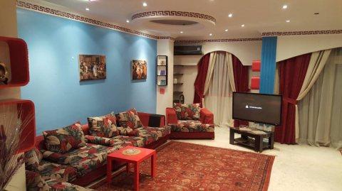 شقة مفروشة 285م اول سكن للايجار من مكرم عبيد مدينة نصر ب