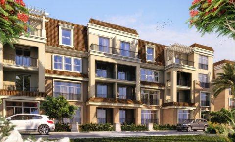 للبيع شقة رائعة في كمبوند ساراي موقع ممتاز بالمرحلة الثانية