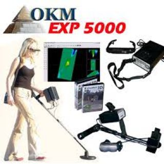 EXP 5000 أقوى كاشف تصويري للمعادن والفراغات