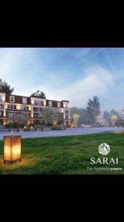 للبيع شقة 165م رائعة في كمبوند ساراي موقع ممتاز بالمرحلة الثانية