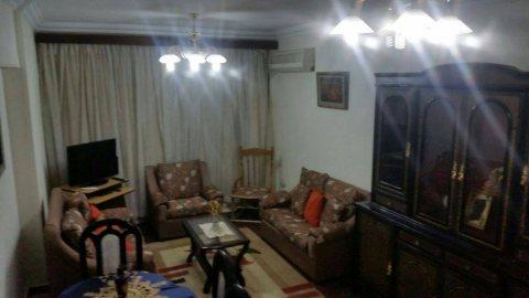 شقة مفروشة للايجار شارع النزهة