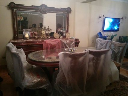 شقة مفروشة للايجار على مصطفى النحاس الرئيسي بموقع متميز مدينة نصر