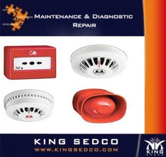 sensor of fire alarm