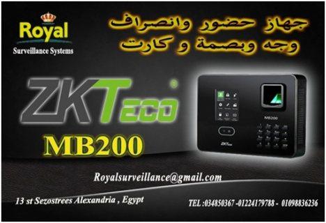 نظام  حضور وانصراف ماركة ZKTECOموديل MB200