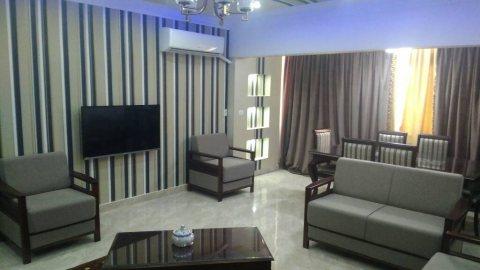 شقة مفروشة للايجار اول سكن امام سيتي ستارز بأرقى منطقة بمدينة نصر