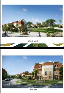 للبيع شقة رائعة في كمبوند ساراي  موقع ممتاز بالمرحلة الاولي 165