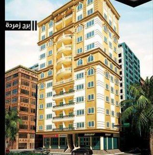 شقة ناصية للبيع بشارع الأتوبيس الجديد 125 م إدفع 50 % مقدم