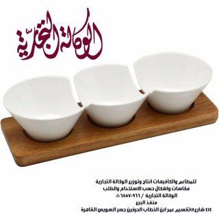 اطباق تقديم  خشبية للمطاعم والكافيهات