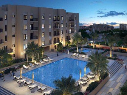 شقة للبيع في دبي غرفة وصالة  واقساط 1% شهري بمجمع سكني متكامل