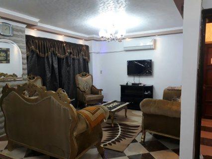 شقة مفروشة للايجار اول مكرم عبيد