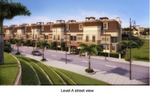 بالتقسيط شقة رائعة في كمبوند ساراي  بحديقة 145 م