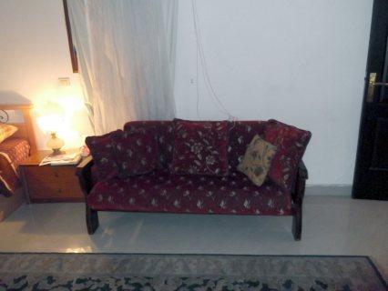 شقة مفروشة للايجار بشارع معز الدولة من مكرم عبيد الرئيسي بجوار المولا