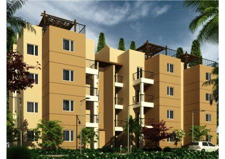 شقة للبيع في كمبوند هرم لايف امام مول مصر 6 أكتوبر