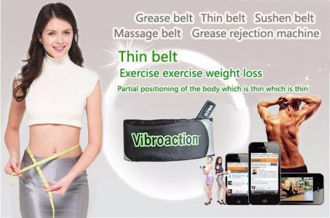 Vibroaction Slimming Massage Belt