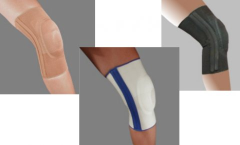 Elastic Knee Brace with Visco Patella Support