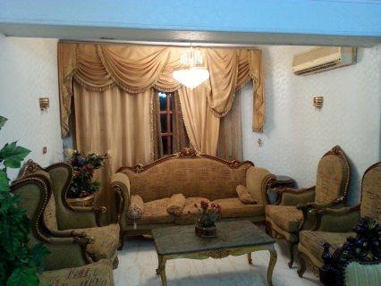 شقة مفروشة 200م فاخرة للايجار شارع مكرم عبيد امام السراج مول مدينة نصر