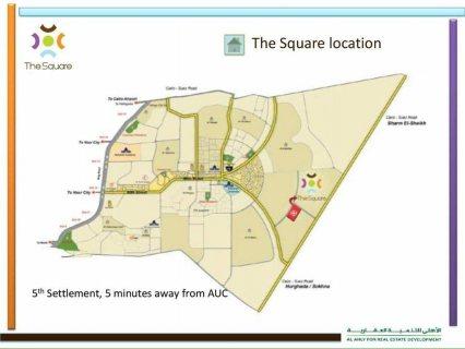 The Square كمبوند متكامل الخدمات أحجز شقتك بمقدم 35% فقط