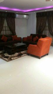 شقة مفروشة راقية للايجار بموقع رائع من عباس العقاد الرئيسي مدينة نصر