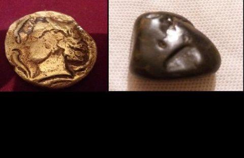 عملتان من دولة فارس  القديمة