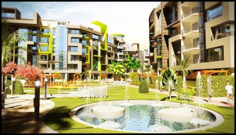 اسكن واستثمروامتلك شقة المستقبل خلف جامعة زويل الشقة بمساحة140م
