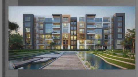 أسكن بالتجمع الخامس بكمبوند Aria بأقل مقدم 5% بمساحه165م .