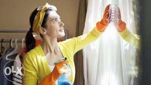 الوصيفة لكافة الخدمات المنزلية من شغالة ومربية وجليسات مسنين01274477240
