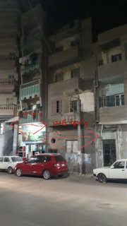 عمارتين متلاصقات على شارع تجاري للبيع معا او مفردات