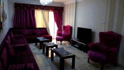 شقة مفروشة للايجار بمربع ذهبى امام سيتى ستارز