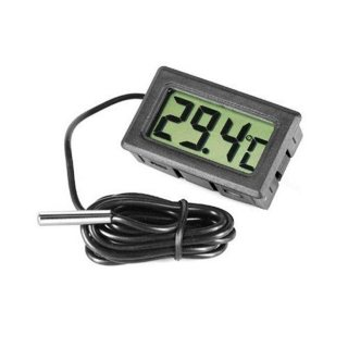 ترموتر ديجيتال لقياس درجة حرارة الغرفة  صغير الحجم وحساسية عالية