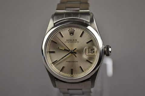 rolex oysterdate percision