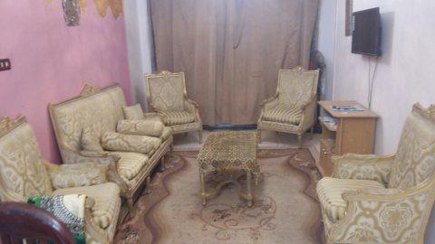 شقة مفروشة للايجار بمربع ذهبى اشهر شوارع مدينة ن