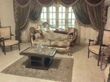 شقة مفروشة للايجار بشارع حافظ رمضان