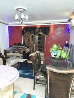 شقة مفروشة للايجار بمربع ذهبى باول مكرم