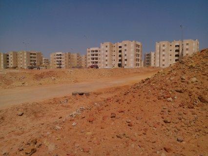 #أرض للبيع فى المحصورة ب 414 دافع أربع أقام رخصة بدروم وارضى3ادوار