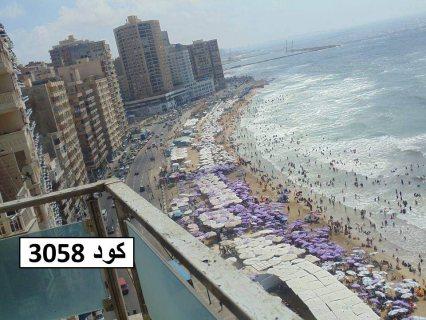 للبيع شقة في سيدي بشر عالبحر مباشرة