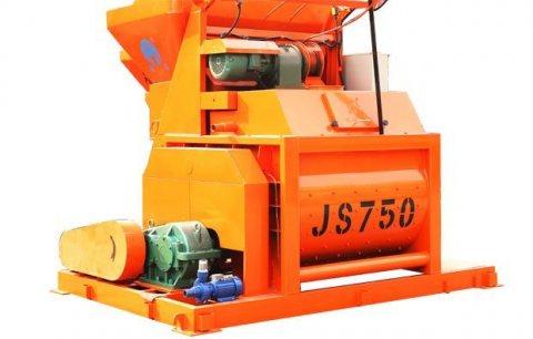 خلاط الخرسانة JS750,35 م3/ساعة ملموسة خلاط