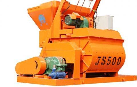 خلاط الخرسانة JS500,25 م3/ساعة ملموسة خلاط