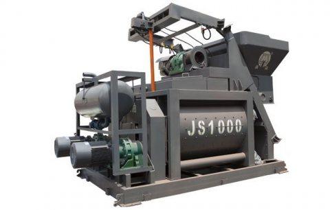 خلاط الخرسانة JS1000,60 م3/ساعة ملموسة خلاط