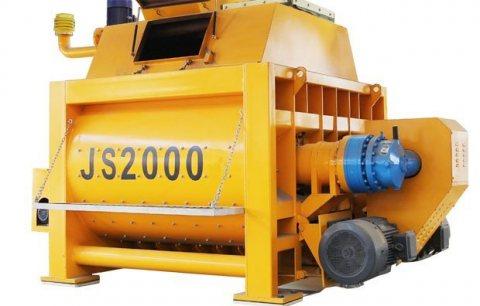 خلاط الخرسانة JS2000,120 م3/ساعة ملموسة خلاط