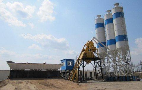 مصنع الخرسانة 25m³ / h ، مصنع خلط الخرسانة للبيع,محطة خلط الخرسانة HZS25