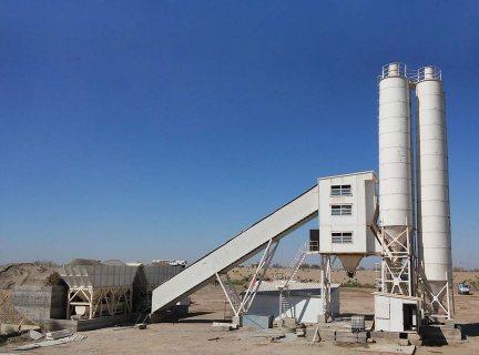 محطة خطة الخرسانة HSZ35,الخرسانة 35 م3/ساعة,مصنع خلط الخرسانة للبيع