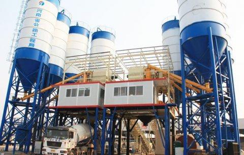 محطة خلط الخرسانة HZS180,الخرسانة 180 م3/ساعة,مصنع خلط الخرسانة للبيع