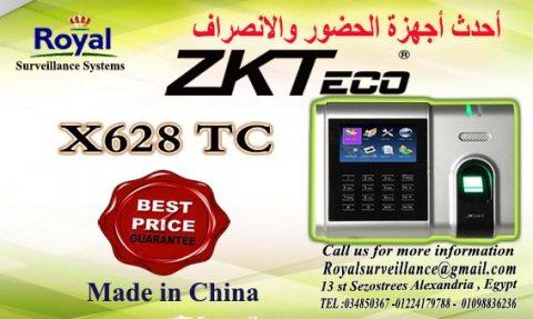 ماكينة حضور والانصراف ZKTeco موديل X628 –TC