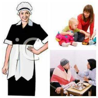 لراحتك وأسرتك الوطنية وفرتلك كافة العمالة المنزلية من مربيات وراعيات المسنين