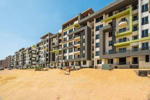 اسكن واستثمروامتلك شقة المستقبل خلف جامعة زويل الشقة بمساحة144م
