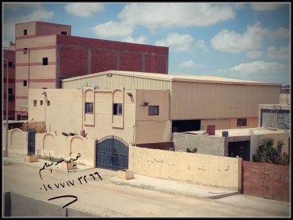 مصنع للبيع برج العرب الجديدة 800م2 غذائى