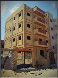 عمارة للبيع برج العرب الجديدة 254م2